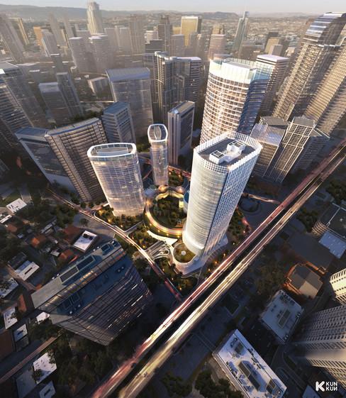 Tower in Jakarta - Indonesia / JSI