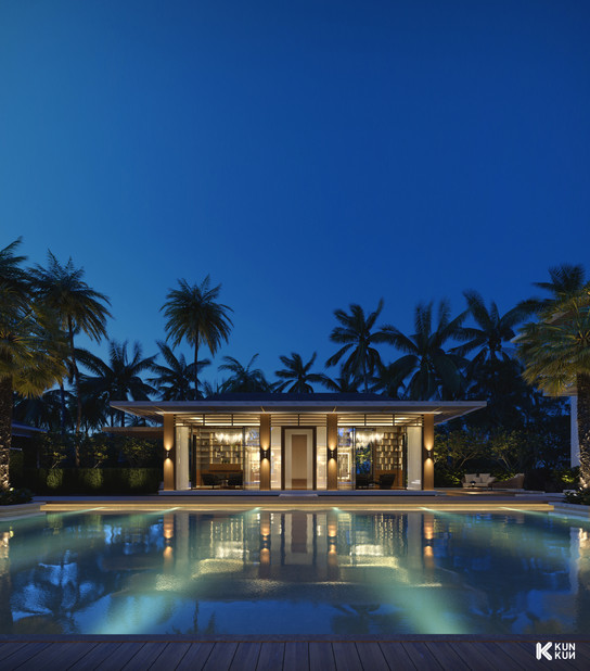 Luxury Pool - Kalkwalf Architects