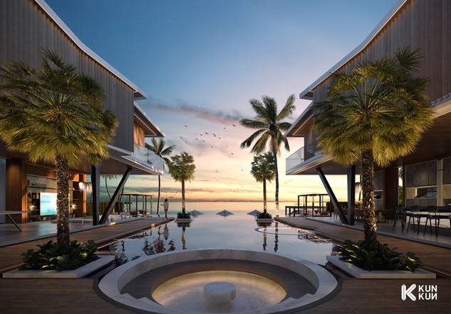 Grace Bay Villa - Turks and Caicos / Kalkwarf Architects