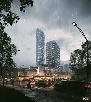 BNI Tower - Indonesia / Ong and Ong