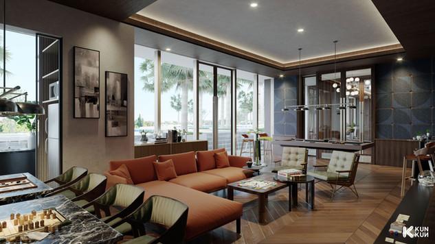 The Lana Apartment Play Room - Indonesia / Brewin Mesa.jpg
