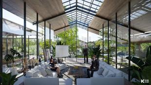 Gray Area Meeting Room - Jakarta Indonesia / RAD+ar