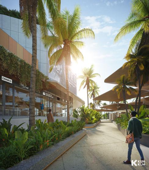 CES ESQ Mall - Africa / Keldi Architects