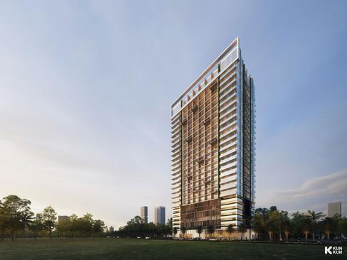 OCIC Tower - Phnom Penh, Cambodia / Charles Lim Architects