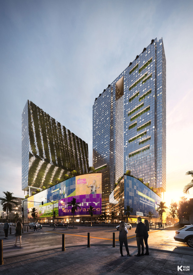 Cambodia Mixed Use - Phnom Penh / Charles Lim Architect