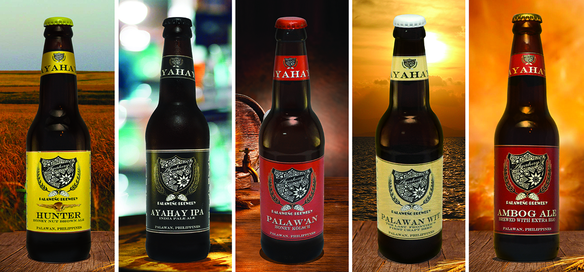 PALAWEÑO BREWERY'S AYAHAY CRAFT BEER