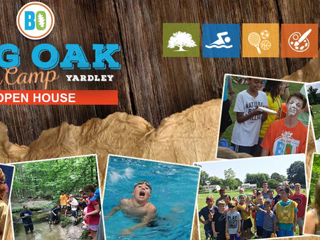 Big Oak Day Camp OPEN HOUSE Sunday, March 3rd        4 p.m.