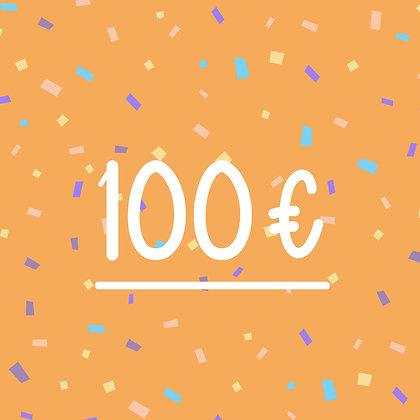 FINCH GIFT CARD 100€