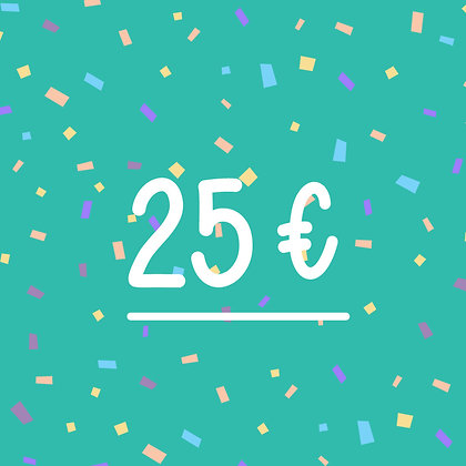FINCH GIFT CARD 25€