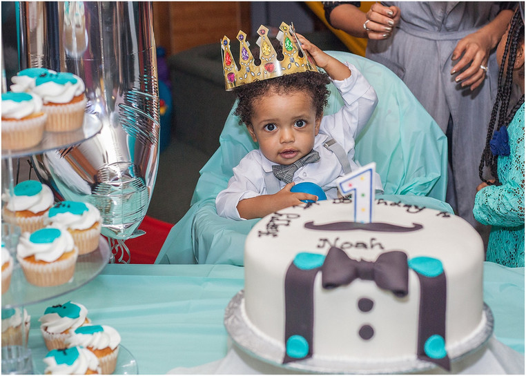 This Little Man Had Cake