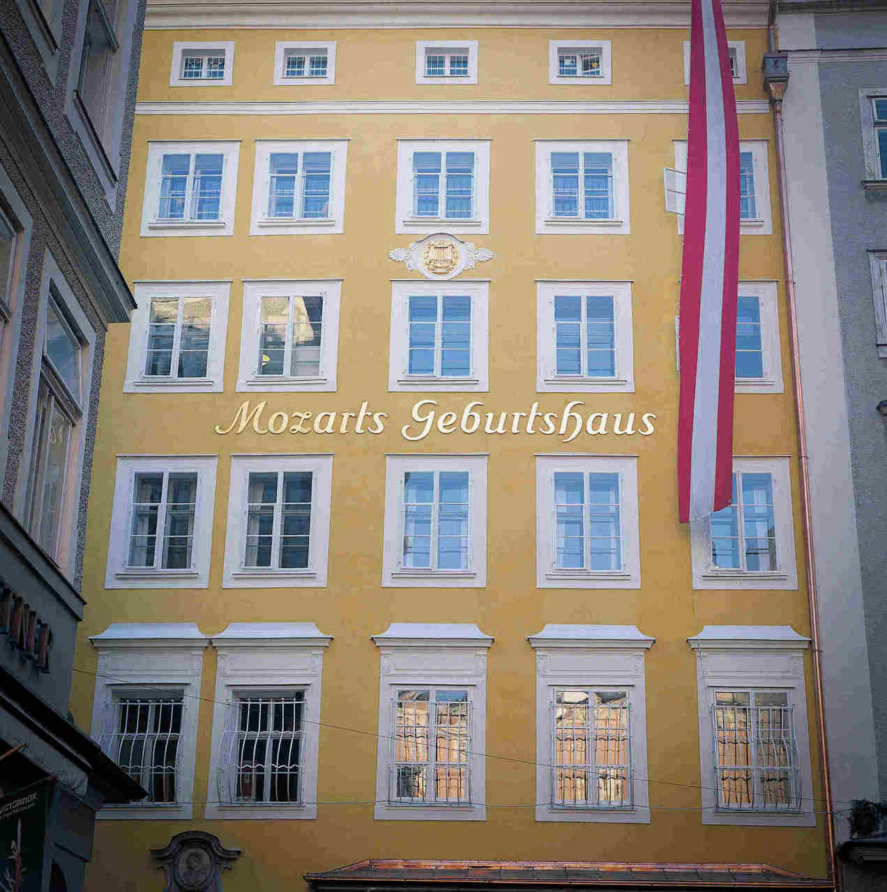 The birthplace of Mozart
