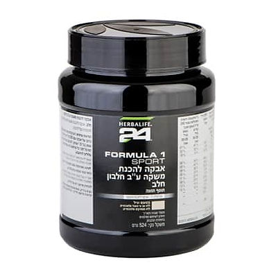 FORMULA 1 SPORT – אבקה להכנת משקה H24