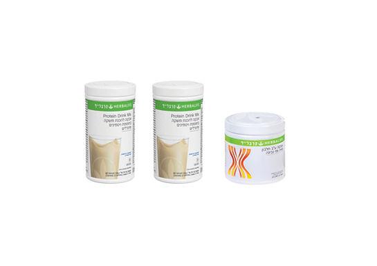 זוג שייקים + אבקת חלבון