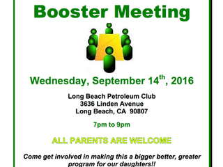 Don't Miss September's Boosters Meeting