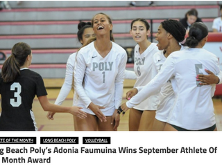 Adonia Faumuina - Athlete of the Month