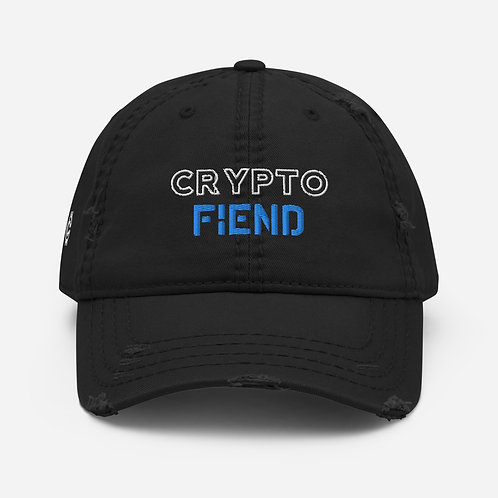 Crypto Fiend Distressed Hat