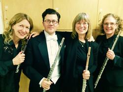 Toronto Symphony flute section 2014