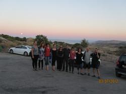 תמונות מטיולים צוות מכון טבעון