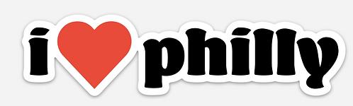 Philly Heart Sticker