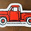Thumbnail: Red Truck Sticker