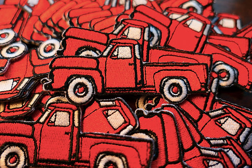 Little Red Truck Patches