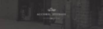 Accorsi Studios White Logo on Warehouse