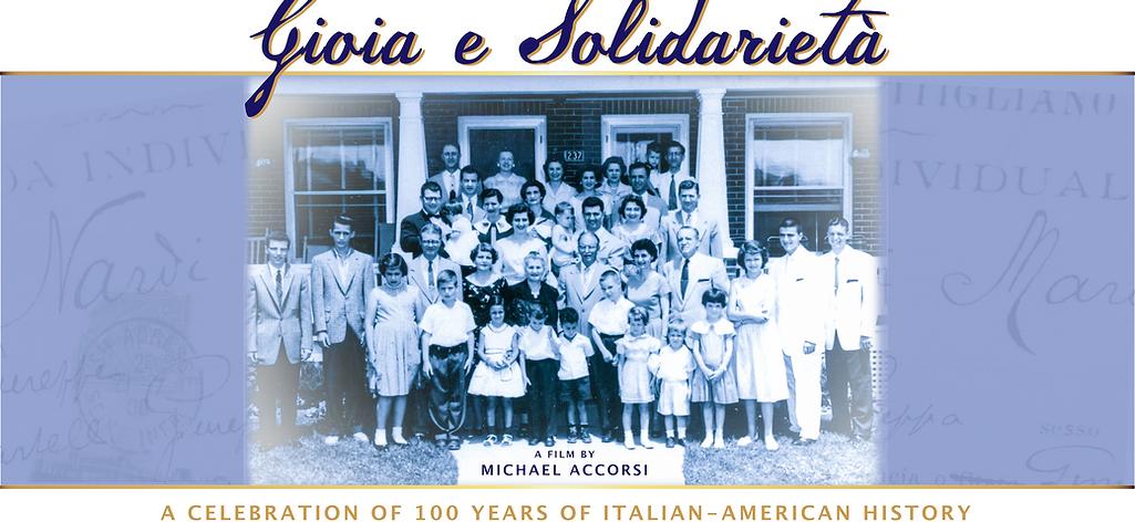 Gioia e Solideritá Film Poster