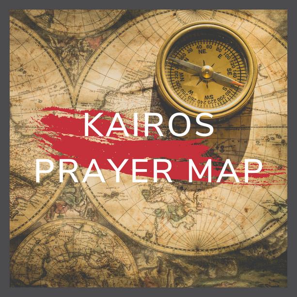 Kairos Prayer Map