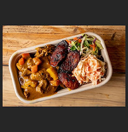 An newly opened independent restaurant in Crouch Hill offering the best in authentic Caribbean Street Food. Their staple offers include Jerk Chicken and Curry Goat as well as Vegan/Vegetarian options.
