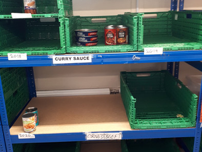 Appeal for food donations following rollout of Universal Credit in Hackney