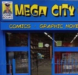Mega City Comics