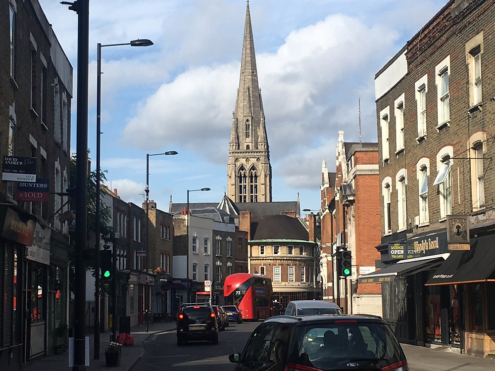 Stoke Newington Church Street where rents have been increasing significantly