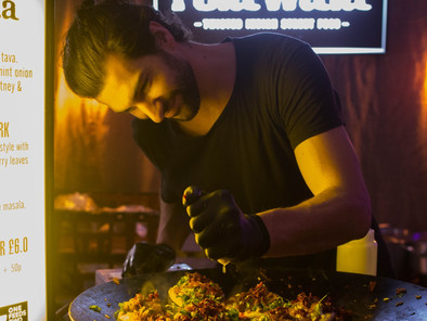 Meet the adman who rolled into Indian street food