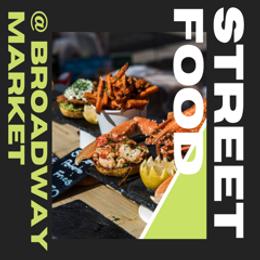 Street Food at Broadway Market