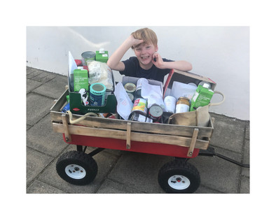 Meet the little boy selling his toys to stop locals going hungry