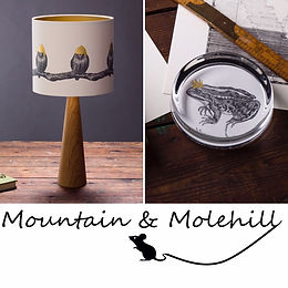 Created with a sense of anthropomorphic wit by a local artist in Hackney, Mountain & Molehill source Victorian illustrations that have real character and use them to make homeware that tell a tale, are educational but most importantly are fun! The mix of vintage illustrations and stylish monochrome means that they are equally suited to a classic or modern home, making them an ideal gift.