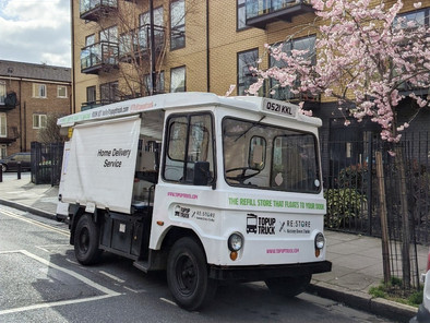 Crowdfunder secures a makeover for Hackney's TopUp Truck