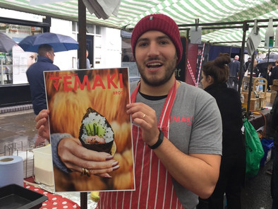 Trip to the Emirates inspires street food sushi business