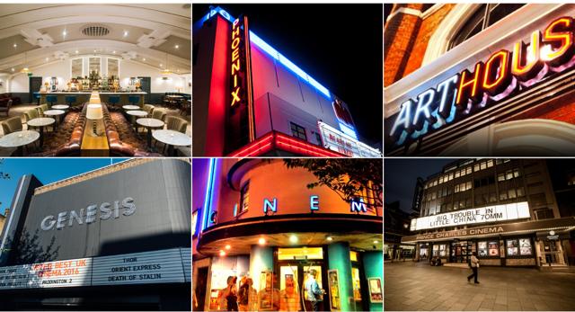 Independent cinemas London