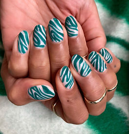 Manicurist specialising in nail art. Based at Life By Margot.