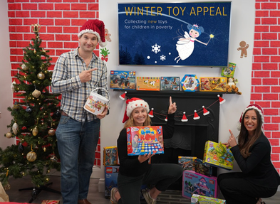 Local Buyers Club launches sixth Winter Toy Appeal to help children in poverty