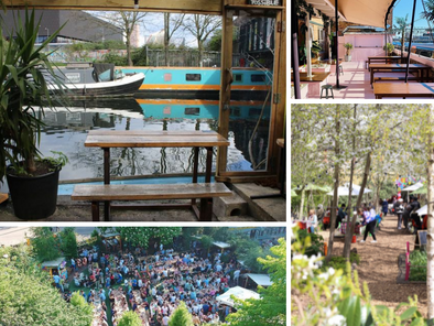 Alfresco in Hackney - your guide to eating (and drinking) outside