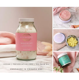 A sustainable, vegan & handmade skincare brand offering nourishing soaps, bath salts, moisturisers and more. Self care has never been more important & we offer a variety of sets perfect for gifting.