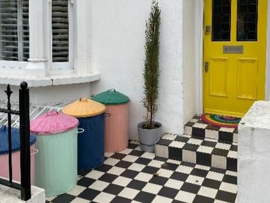 Auction of rainbow bins to brighten children's Christmas