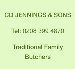 CD Jennings & Sons, Butchers