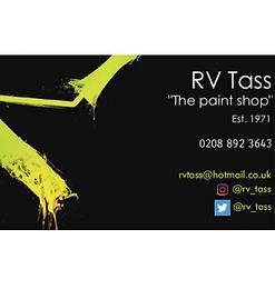 RV Tass - The Paint Shop