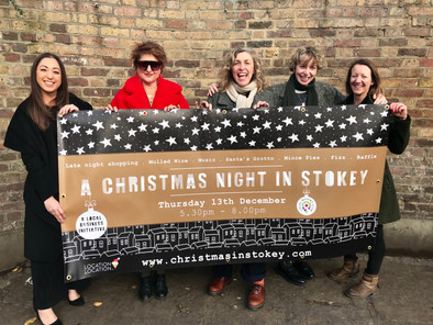 Step out for a Christmas Night in Stokey