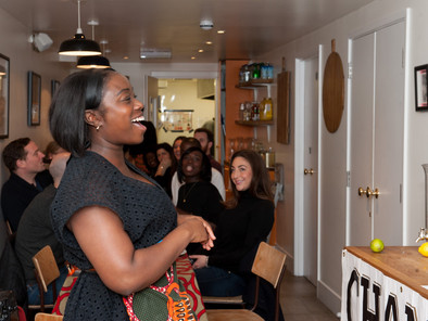 Popular West African chef prepares to feed Hackney Carnival crowds