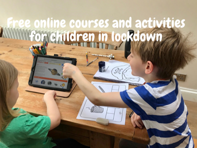 Free online courses, activities and resources for children in lockdown