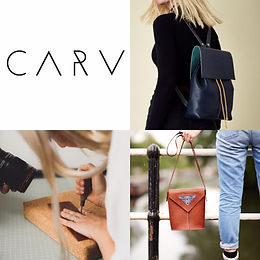 CARV is an independent artisan leather accessories brand based in Hackney Wick in East London. CARV bags are designed with a unique minimal aesthetic and carefully crafted by hand from start to finish using centuries-old hand skills and A grade British and Italian vegetable tanned leather. They are also at Broadway Market in London Fields every Saturday.